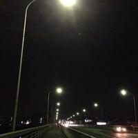 Photo taken at 滝尾橋 by Masato K. on 4/12/2014