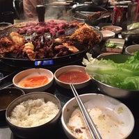 Photo taken at Honey Pig Korean BBQ by Brooke L. on 10/11/2013
