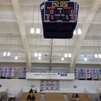 Photo taken at McDonough Gymnasium, Georgetown University by Villanova A. on 1/29/2014