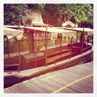 Photo taken at Jungle Cruise by David G. on 4/18/2013