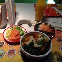 Photo taken at Yo! Sushi by Semih on 1/12/2013
