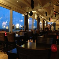 Photo taken at Strandpaviljoen Paal 10 by Ton d. on 12/22/2012