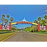 Photo taken at Walt Disney World Entrance by Eduardo S. on 3/31/2013