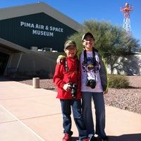Photo taken at Pima Air & Space Museum by Diny P. on 12/29/2012