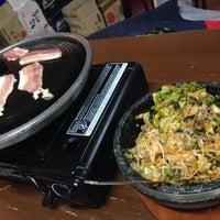 Photo taken at Huwon Restaurante Coreano by Daniel C. on 12/21/2015