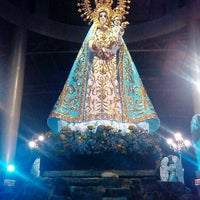 Photo taken at Minor Basilica of Our Lady of the Most Holy Rosary of Manaoag by Kay A. on 5/21/2013