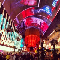 Photo taken at Fremont Street Experience by Edward H. on 2/16/2013
