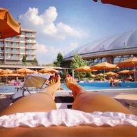 Photo taken at Aquaworld Resort & Spa by Aleksandra C. on 7/10/2013