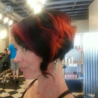 Photo taken at Scream Salon by Kelly S. on 3/12/2013