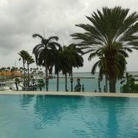 Photo taken at Renaissance Aruba Resort And Casino by Rina C. on 4/20/2013