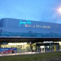 Photo taken at George Best Belfast City Airport (BHD) by Nachiket D. on 9/1/2013