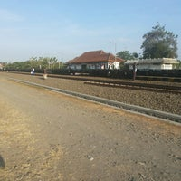 Photo taken at Stasiun Patukan by Fajar J. on 10/13/2013