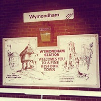 Photo taken at Wymondham Railway Station (WMD) by Julia D. on 4/26/2013