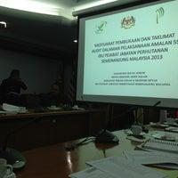 Photo taken at Jabatan Perhutanan Semenanjung Malaysia by Ars R. on 5/22/2013