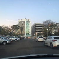 Photo taken at Estacionamento Museu Oscar Niemeyer by Fabiam F. on 7/18/2016