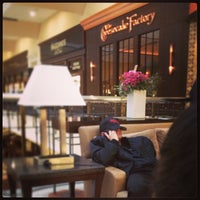 Photo taken at The Cheesecake Factory by Enoch M. on 1/26/2013