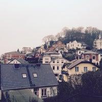 Photo taken at Elbchaussee by Halime Seyhun N. on 2/12/2015