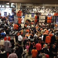 Photo taken at Giants Dugout Store by Jessica C. on 10/24/2012