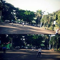 Photo taken at SMAN 98 Jakarta by Indah Permata S. on 2/20/2013