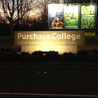 Photo taken at Purchase College by Jay W. on 2/1/2013