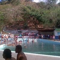 Photo taken at Balneario Las Trincheras - Aguas Termales by Angel de J B. on 2/11/2013