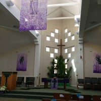 Photo taken at Lynnewood United Methodist Church by Peter on 3/24/2013
