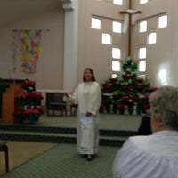 Photo taken at Lynnewood United Methodist Church by Peter on 3/31/2013