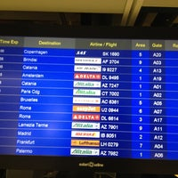Photo taken at Gate A19 by Michela S. on 5/1/2013