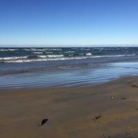 Photo taken at Wasaga Beach by Duygu O. on 12/24/2015