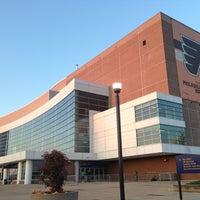 Photo taken at Wells Fargo Center by Daria H. on 4/25/2013
