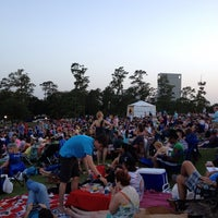 Photo taken at Miller Outdoor Theatre by Karen Janeice G. on 6/22/2013