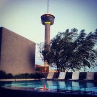 Photo taken at Pool Deck at Grand Hyatt by Jenn W. on 6/27/2013