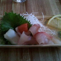Photo taken at Moshi Moshi Sushi by Mike R. on 11/26/2012