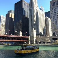 Photo taken at Chicago Water Taxi (Michigan) by Luis C. on 4/16/2016