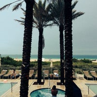 Photo taken at Poolside@ Miami Mariott by Juraj S. on 7/20/2014