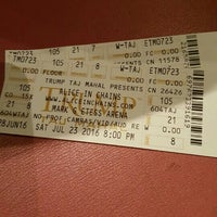 Photo taken at Mark G. Etess Arena by Johanne K. on 7/23/2016