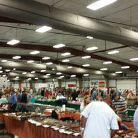 Photo taken at Conway Expo Center by Sara B. on 10/25/2014