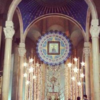 Photo taken at National Shrine of Our Mother of Perpetual Help by Innokyle DR. ABUNAI あ. on 6/4/2013