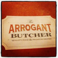 Photo taken at The Arrogant Butcher by Paul M. on 2/16/2013