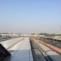 Photo taken at Allahabad Junction by Pratyush T. on 10/17/2015