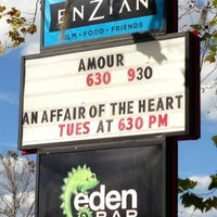 Photo taken at Enzian Theater by Melanie @. on 2/20/2013