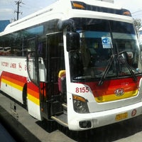 Photo taken at Victory Liner (Cubao Terminal) by Claude P. on 2/18/2013