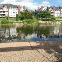 Photo taken at Centennial Lakes Park by Rich B. on 8/1/2013