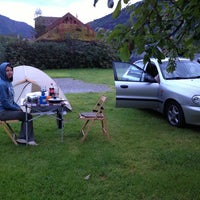 Photo taken at Sandvik Camping by Максимилиан Ц. on 8/19/2014