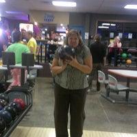 Photo taken at Royal Crest Lanes by Adrian J. on 10/11/2013