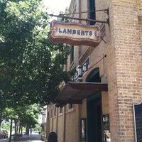Photo taken at Lambert's Downtown BBQ by David G. on 6/29/2013