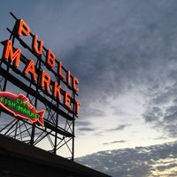 Photo taken at Pike Place Market by William d. on 7/8/2013