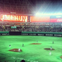 Photo taken at Fukuoka Yahuoku! Dome by Taisuke F. on 5/22/2013
