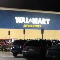 Photo taken at Walmart Supercenter by Joshua on 12/22/2012