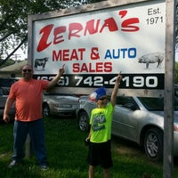 Photo taken at Zerna's Auto/Meat by Lisa Kay S. on 7/3/2015